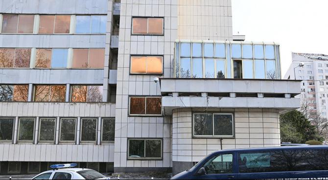 Мъж се самоуби в сградата на ДАНС