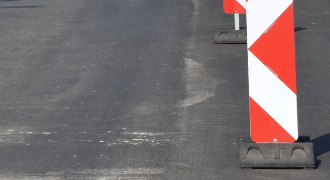 Възстановено е движението при км 395 на пътя Кресна - Симитли