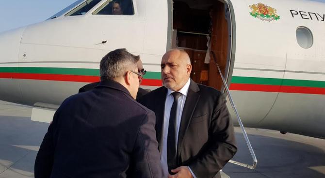 Бойко Борисов пристигна в Полша
