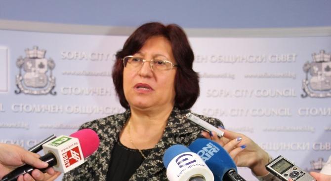 Милка Христова: Подкрепяме доклада за решаване на водната криза в Перник, но ще търсим политическа отговорност