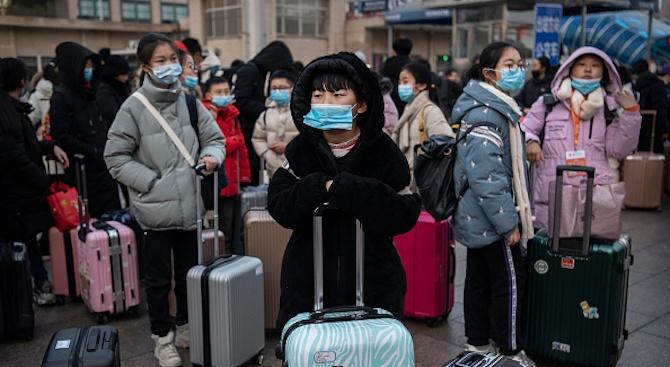 Китай отлагат за неопределено време началото на втория срок в училищата и новия семестър в университетите