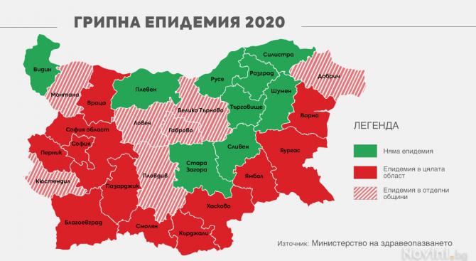 България е в грипен капан! Вижте как да се предпазим