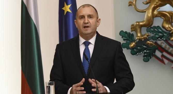 Румен Радев: Не можем да продължаваме напред, ако не сме стъпили здраво на нашите традиции