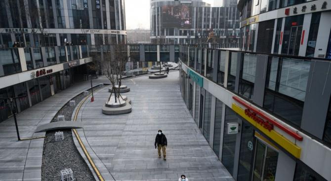 Пекин - мъртъв град заради епидемията от новия вирус в Китай