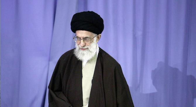 Върховният лидер на Иран аятолах Али ХаменейСеид Али Хосейни Хаменей