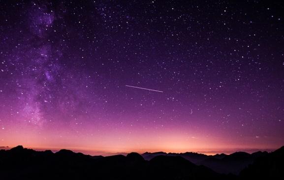 Виждали ли сте падаща звезда?