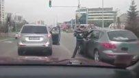 Як бой на кръстовище в София