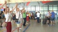 Флашмоб изненада за поредна година пътниците на Летище София