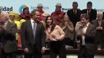 Танц на аржентинския президент Кристина Кирхнер стана хит