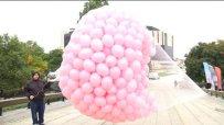 1200 розови балона полетяха в небето над София