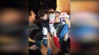 Брад Пит спаси малко момиченце от тълпа фенове