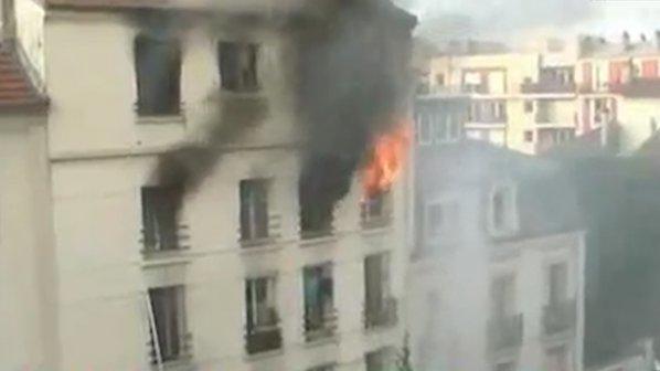 5-ма загинаха при пожар в Париж