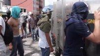 Кръв се ля на протестите във Венецуела