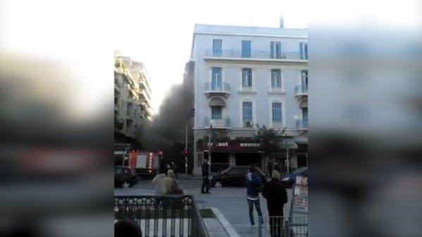Взрив в Атина взе жертва