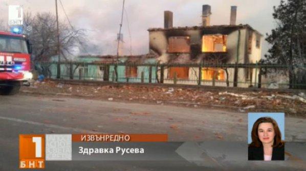Цистерни от влак експлодираха в Хитрино, има загинали и много ранени