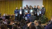 Наградиха най-добрите пожарникари в София