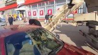 Руснак бетонира колата на Вярната си съпруга