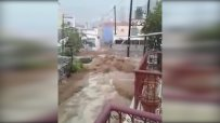 Ураганът Евридика връхлетя гръцкия остров Сими