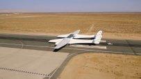 Изпитаха най-големия самолет в света
