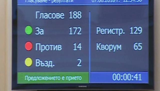 Парламентът даде зелена светлина за АЕЦ Белене
