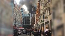 Роби Уилямс за пожара в лондонския хотел: Издигаха се кълба от дим