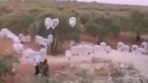 Палестинци удрят Израел с кондоми-бомби