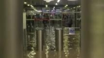 Опасно е, ако нивото на водата в метрото се вдигне над ходовите релси и стигне до контактната релса