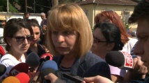Фандъкова след пороя в София: Няма сериозни щети, но бъдете отговорни и не изхвърляйте безразборно отпадъци