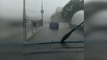 Силна буря се изви над София