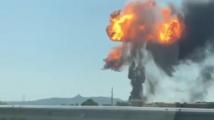 Цистерна избухна до летището в Болоня