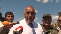 Борисов за изказването на Заев: Всеки да си мери приказките