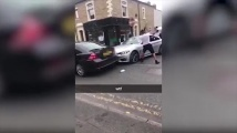Потрошиха BMW с бухалки на Острова