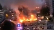 Нощ на горящите коли озари Швеция