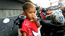 Двегодишно индонезийче пафка по 2 кутии цигари дневно