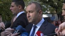 Румен Радев с призив към премиера и депутатите: Да запазим радиомълчание
