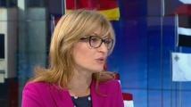 Екатерина Захариева с важни подробности за българите във Великобритания преди Брекзит