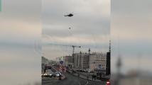 Евакуираха Владимир Путин с хеликоптер от Кремъл