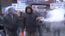 Десетки пчелари се събраха на протест пред сградата на Министерство на земеделието