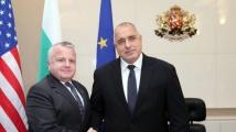 Борисов се срещна със заместник-държавния секретар на САЩ Джон Съливан