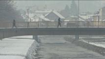 Сърбия почервеня от сняг