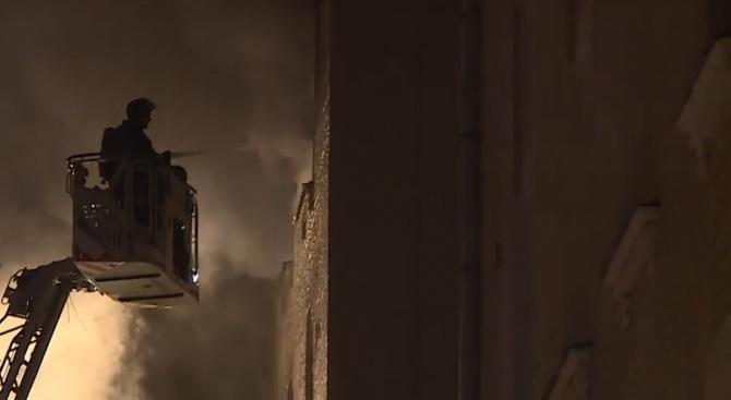 Пожар в жилищна сграда отне живота на четирима души в Москва