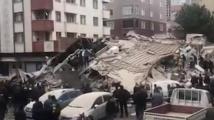 Сграда се срути в Истанбул. Има убит