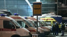 Хора се пребиха на руско летище заради стълба
