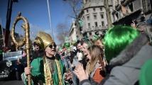 Пищен парад в Ню Йорк за Деня на Свети Патрик