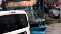 Автобус се вряза в спирка в Истанбул. Има ранени