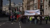 Привърженици и противници на Брекзит се събраха в Лондон
