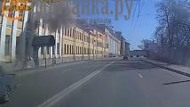 Появи се видео от взрива в руския военен ВУЗ