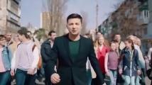 Камион блъсна кандидата за украински президент Володимир Зеленски