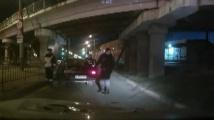 Руски джигит се скри в багажника от полицаи