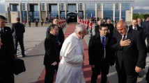 Премиерът Бойко Борисов изпрати папа Франциск